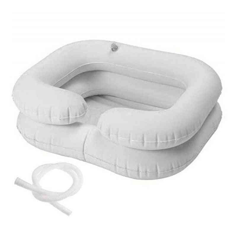 Portable Travel Hair Inflatable Blow Up Washbasin