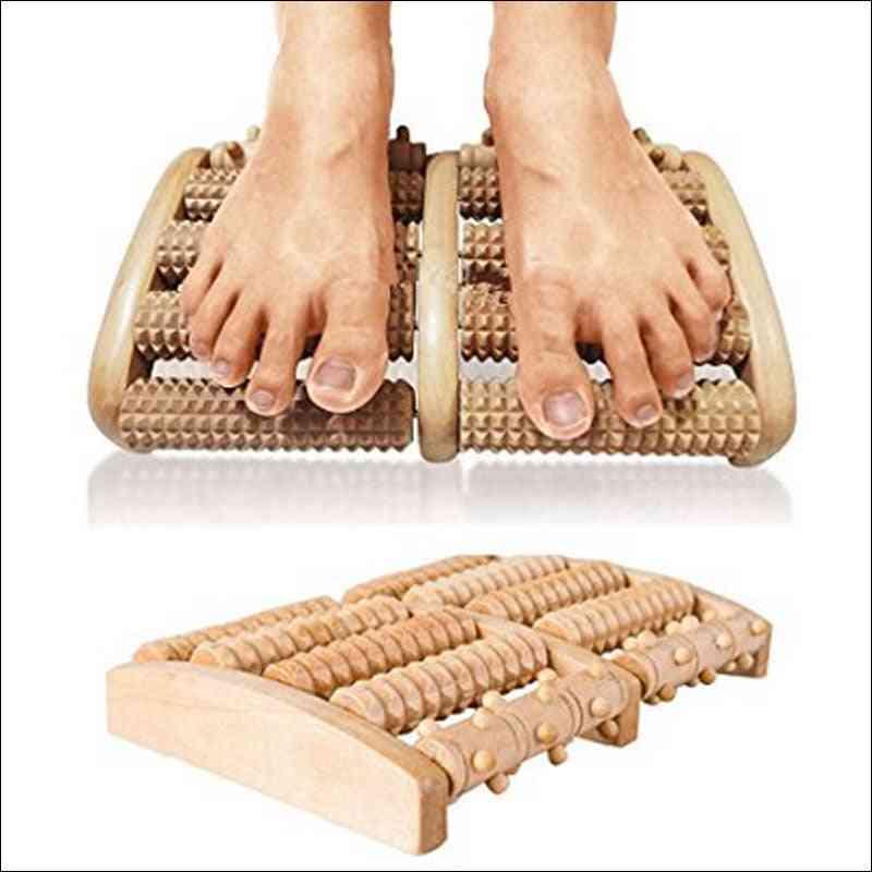 Wooden Roller- Foot Massager, Sauna Kit