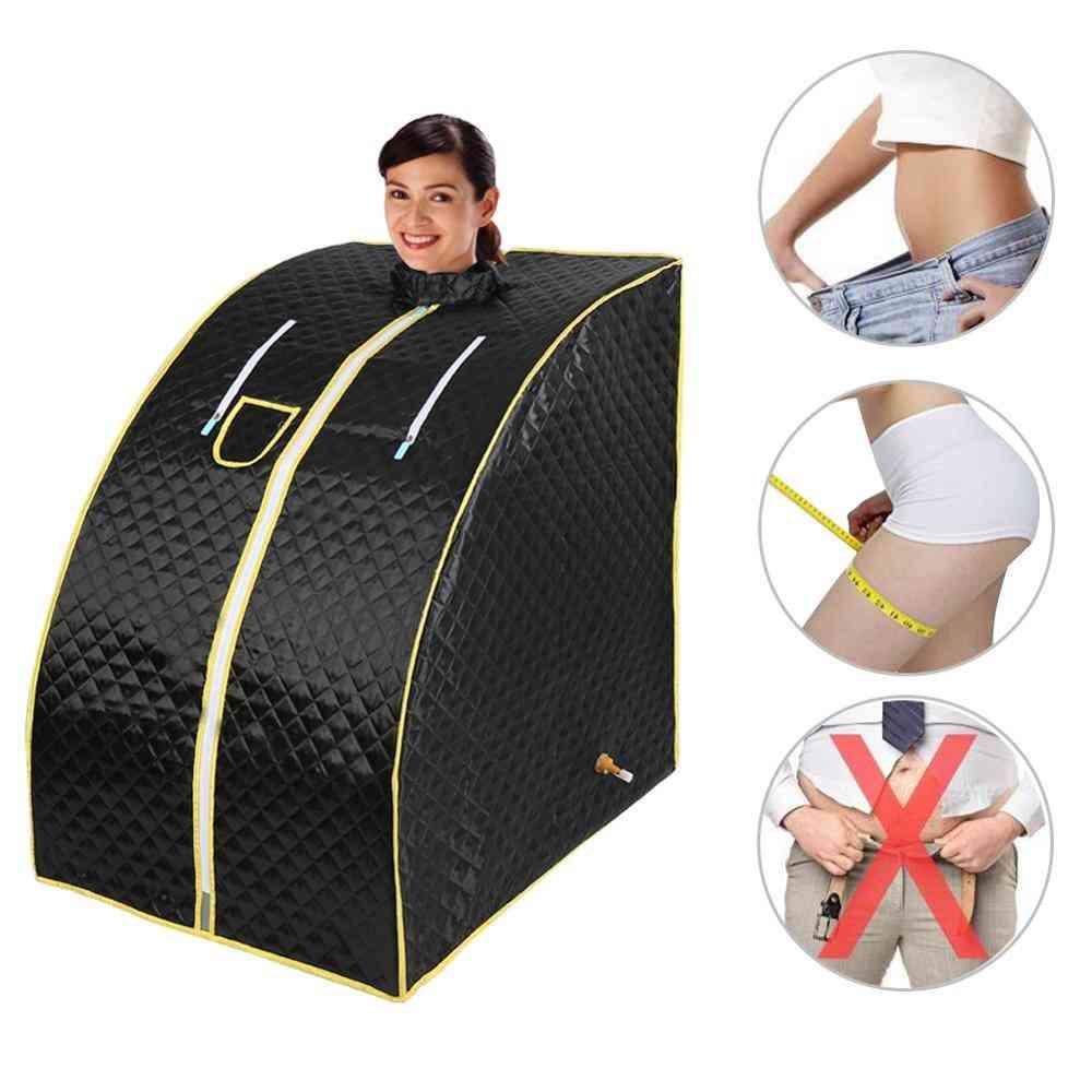 Portable- Home Sauna Bath, Fold Chair