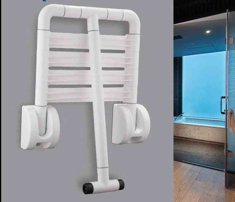 Wall Mounted- Seat Bench Shower, Folding Bath Stool