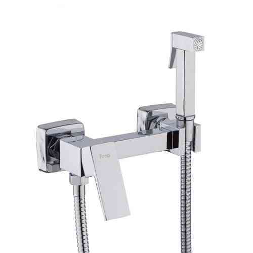 Brass Single Cold & Cold Hot Water Corner, Function Square Hand Shower