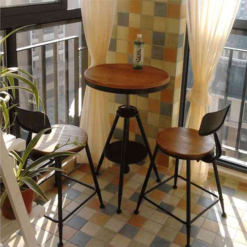 Combination Net Leisure Coffee Milk Tea Shop Outdoor Balcony Small Table And Chair