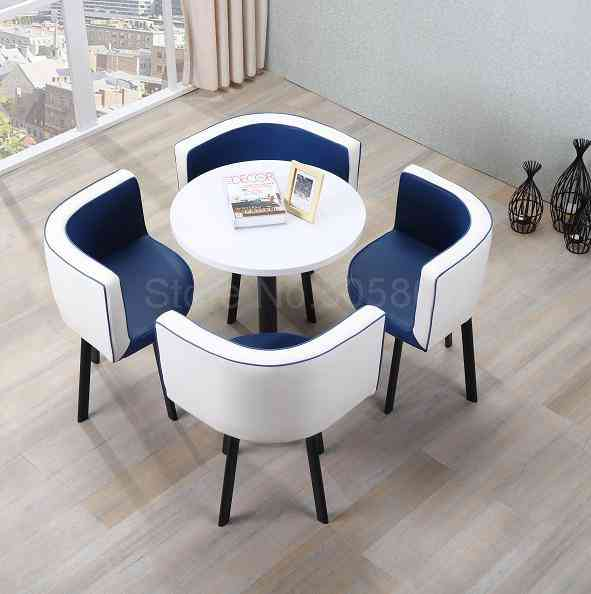 Simple Negotiation  Combination Reception Parlor Leisure Table And Chair