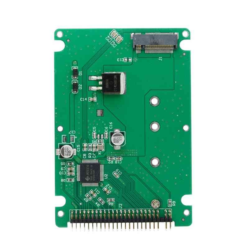M.2 Ngff B+m Key Sata Ssd To 44 Pin 2.5 Ide Converter Adapter Cards With Case