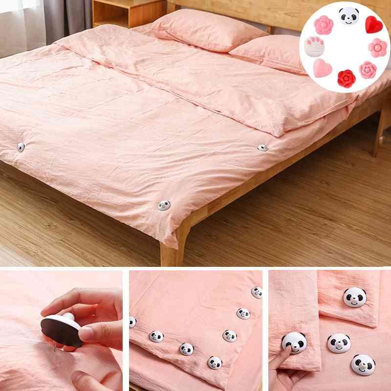 Bed Sheet, Fitted Sheet Holder, Grippers Clip Set- Socks Mattress, Fasten Fixator Holder