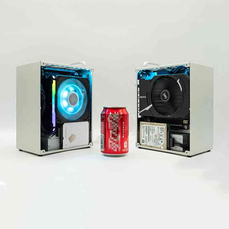 Pc Itx Mini Suitcase Gamer Cooler Case