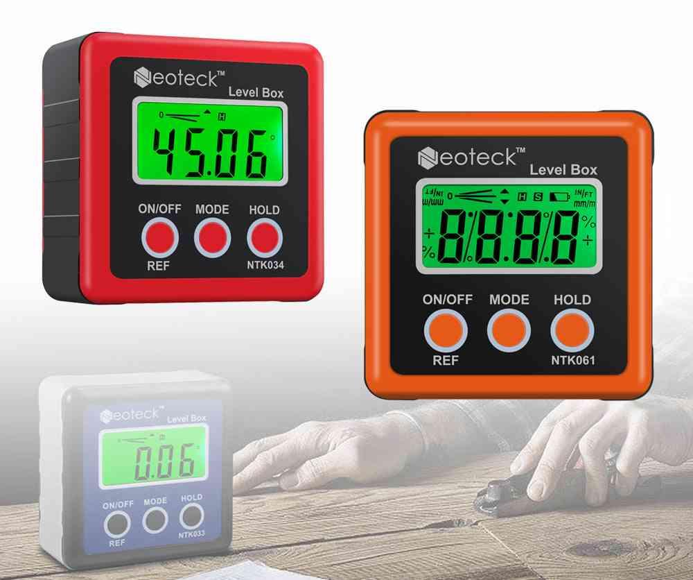 Proster Precision Digital Level Box, Measurment Tool, Angle Gaug