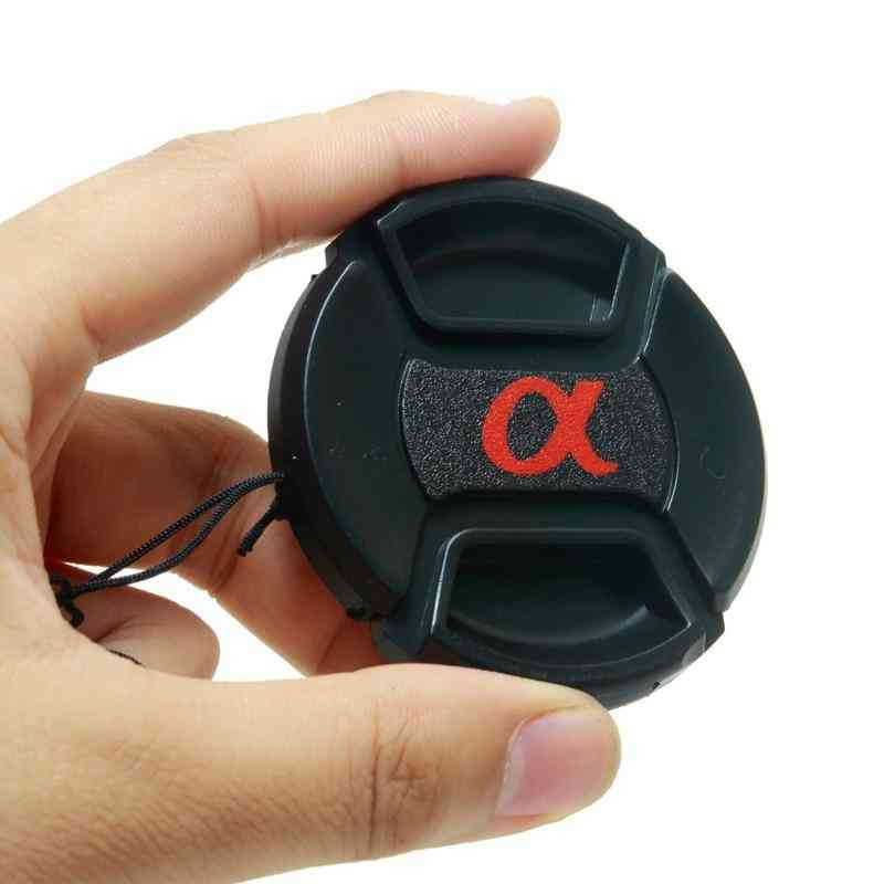 Hood Cover Snap-on Lens Front Camera Lens Cap