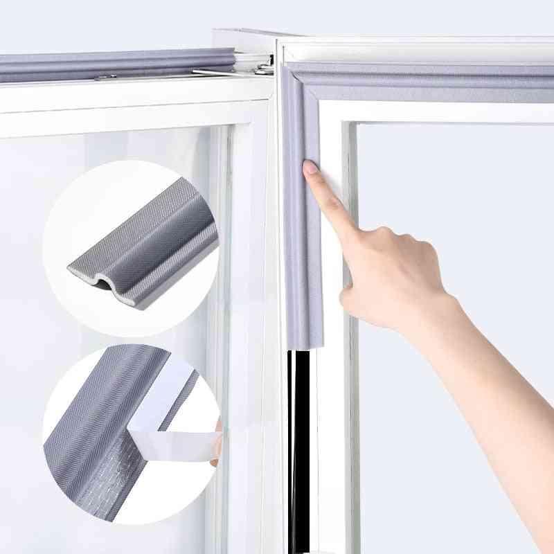 Self Adhesive Window Door Seal Strip Mousse, Soundproof Foam  Stripping Filler