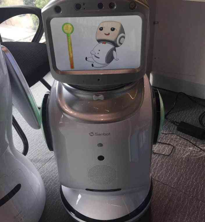 Smart Commercial Or House Security Robot