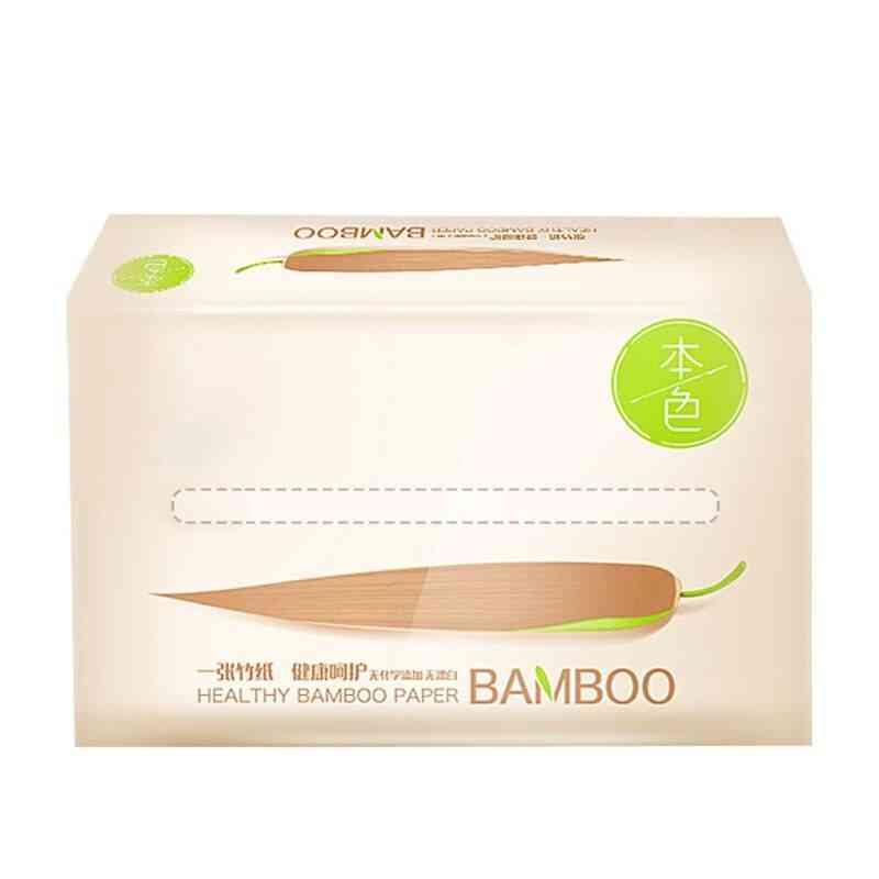 Natural Bamboo Paper, No Bleach Health Toilet Sheets