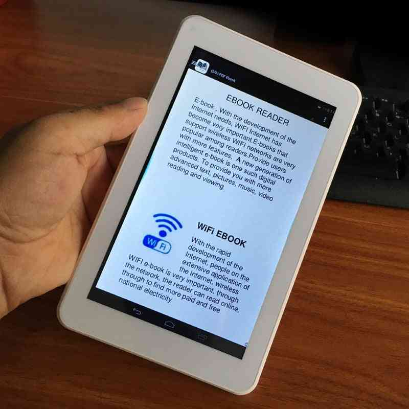 Hd Resolution Touch Screen Wifi Smart Ebook Digital Reader