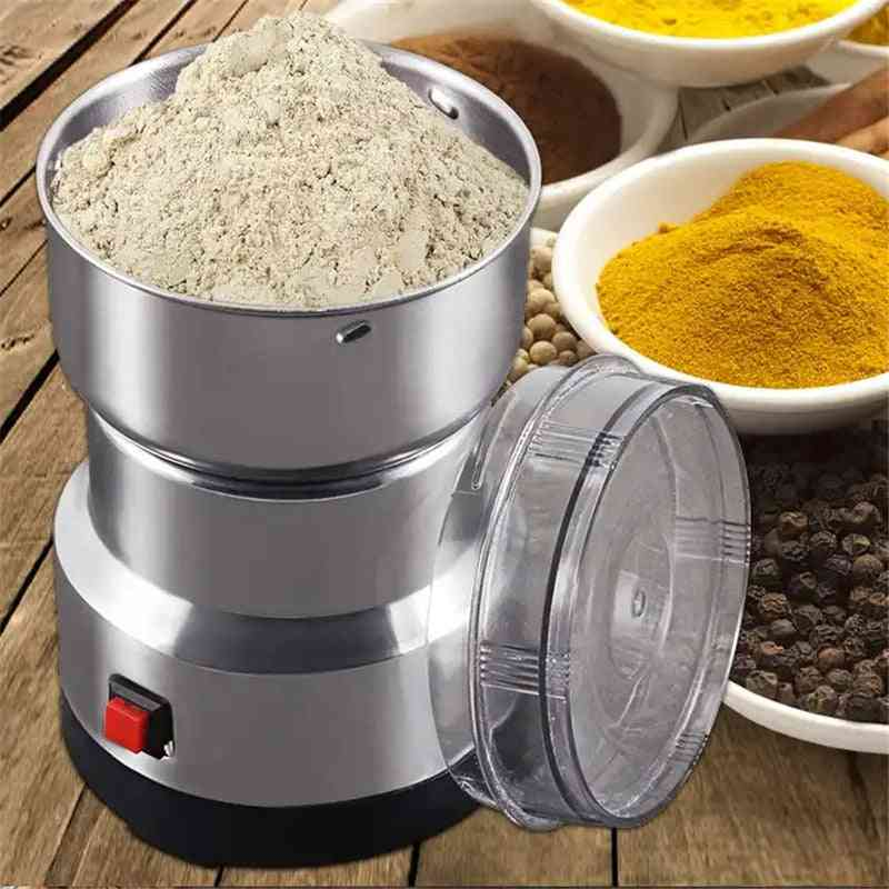 Electric Coffee Grinder Kitchen Cereals Nuts Beans Spices Grains Grinding Machine Multifunctional