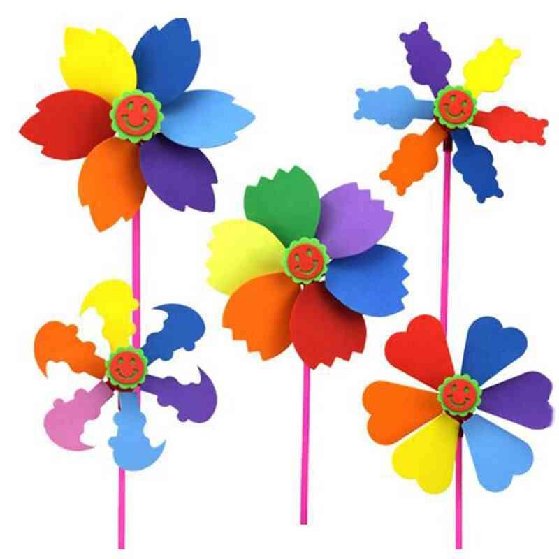 Eva Windmill Diy Cartoon Handicrafts For