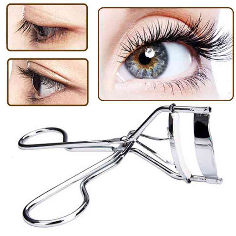 Curl Eyelash Curler, Stainless Steel Cosmetic Makeup Eyelash Curling Tool