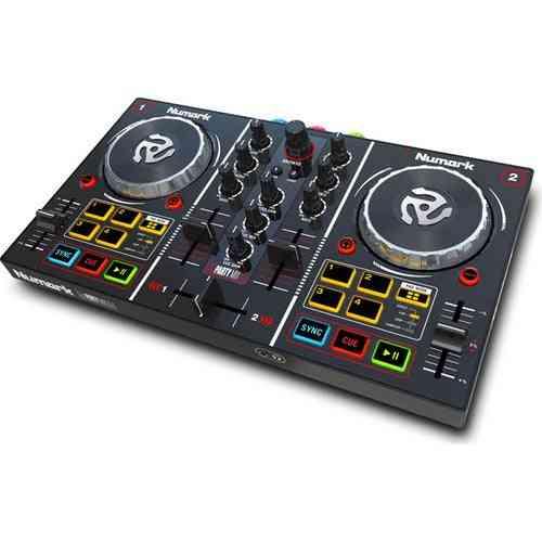 Numark Partymix Dj Controller Making Music Mix