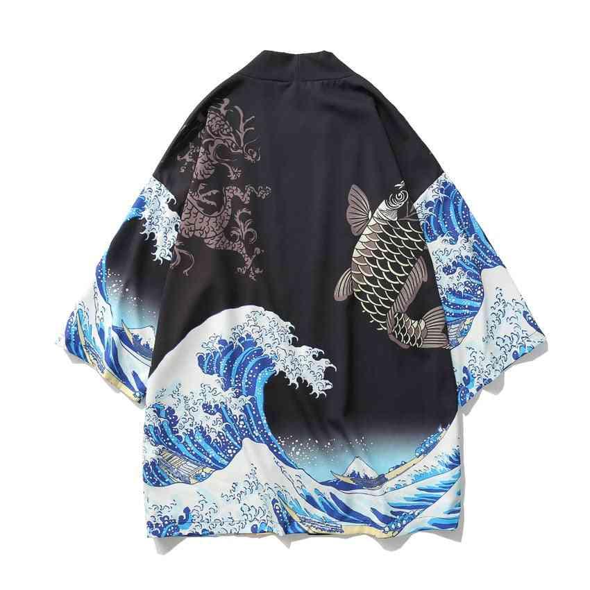 Great Wave Off Kanagawa Man