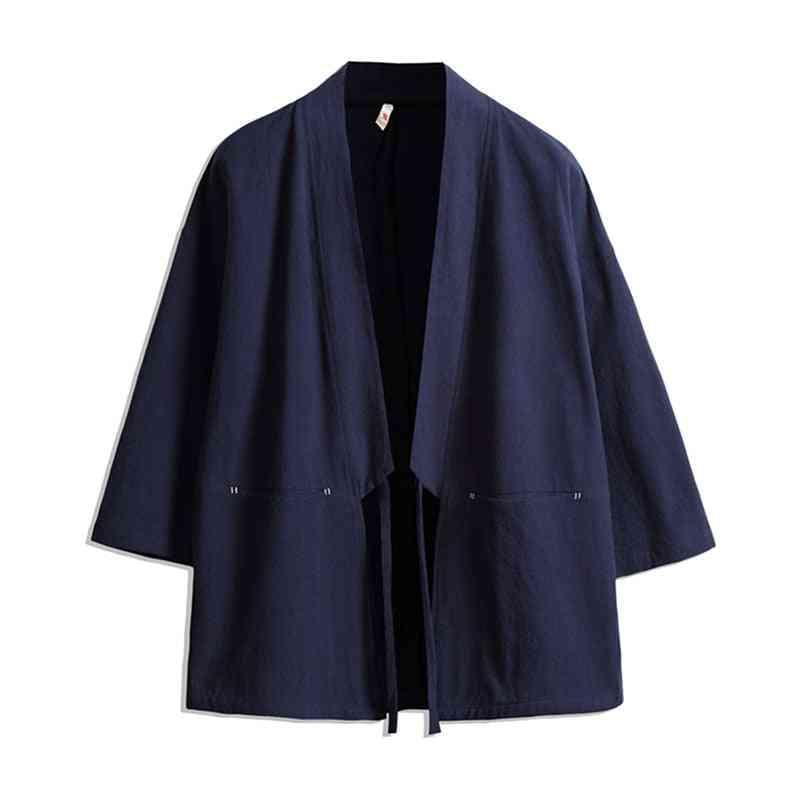 Streetwear Plus Size, Haori Asian Clothes Cardigan Jacket