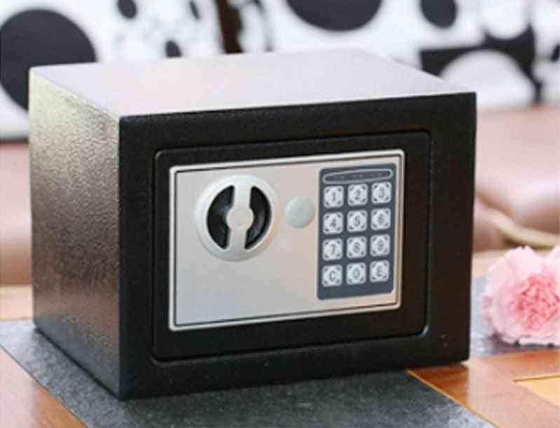 Safe Box- Mini Steel Safes, Password Key, Security Box
