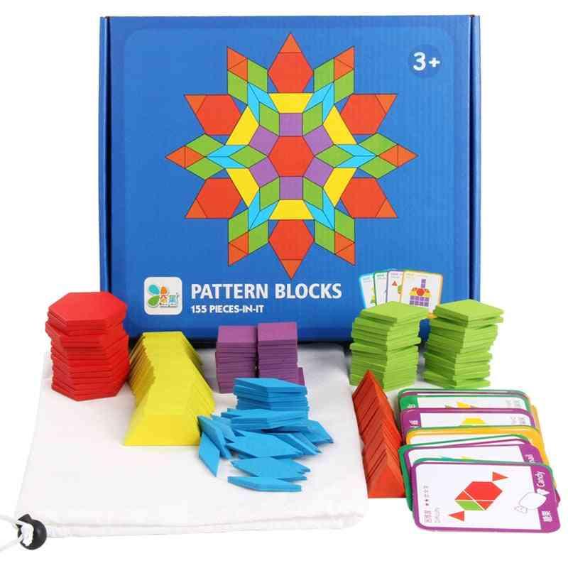 155 Pcs Educational Creative Games Jigsaw Puzzle