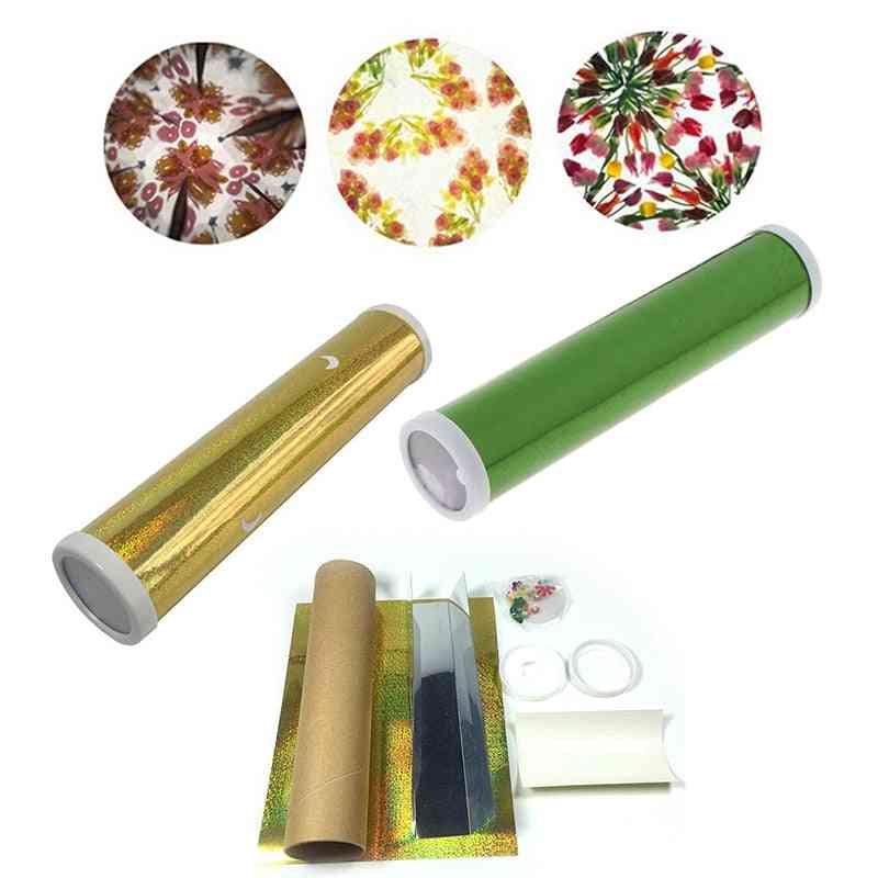 Diy Colored Rotating Kaleidoscope Science Kit