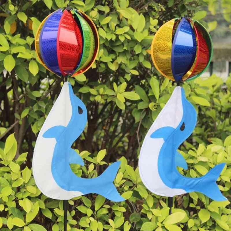 Cute Cartoon- Colorful Rainbow, Wind Spinner