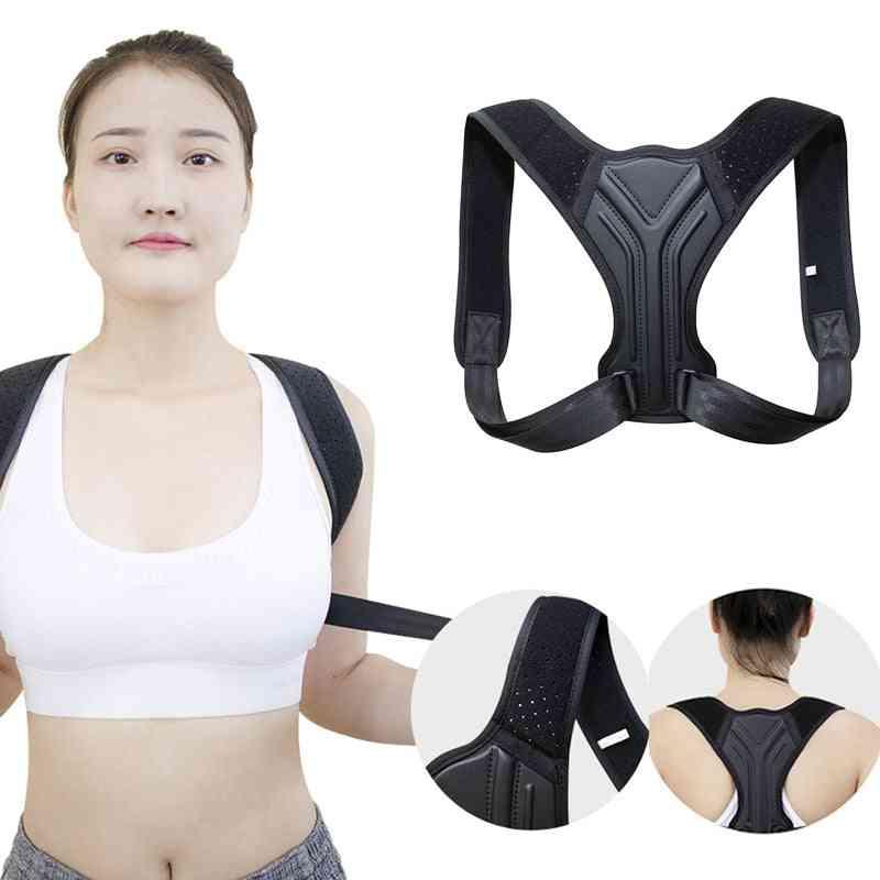 Posture Corrector Corset- Clavicle Spine Shoulder, Lumbar Support Belt, Trainer Spine