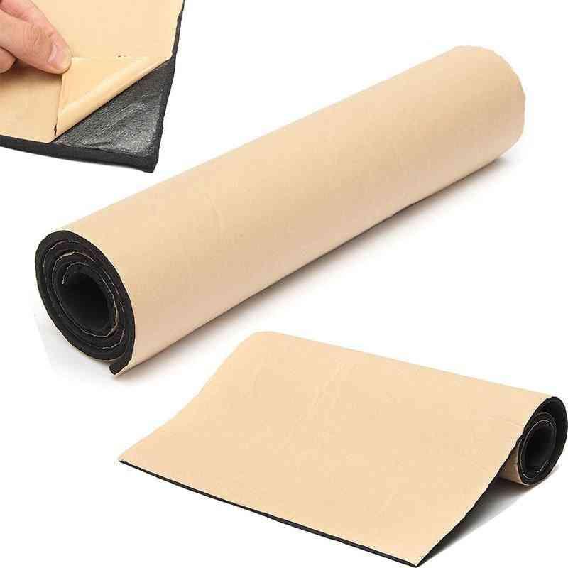 Acoustic Foam Rubber Sound Insulation Car Mat Speakers Soundproofing Vibration Isolation 50x100cm