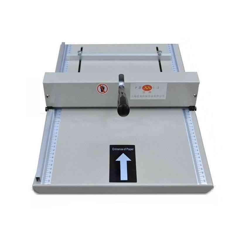 Manual Paper Creaser Creasing Machine