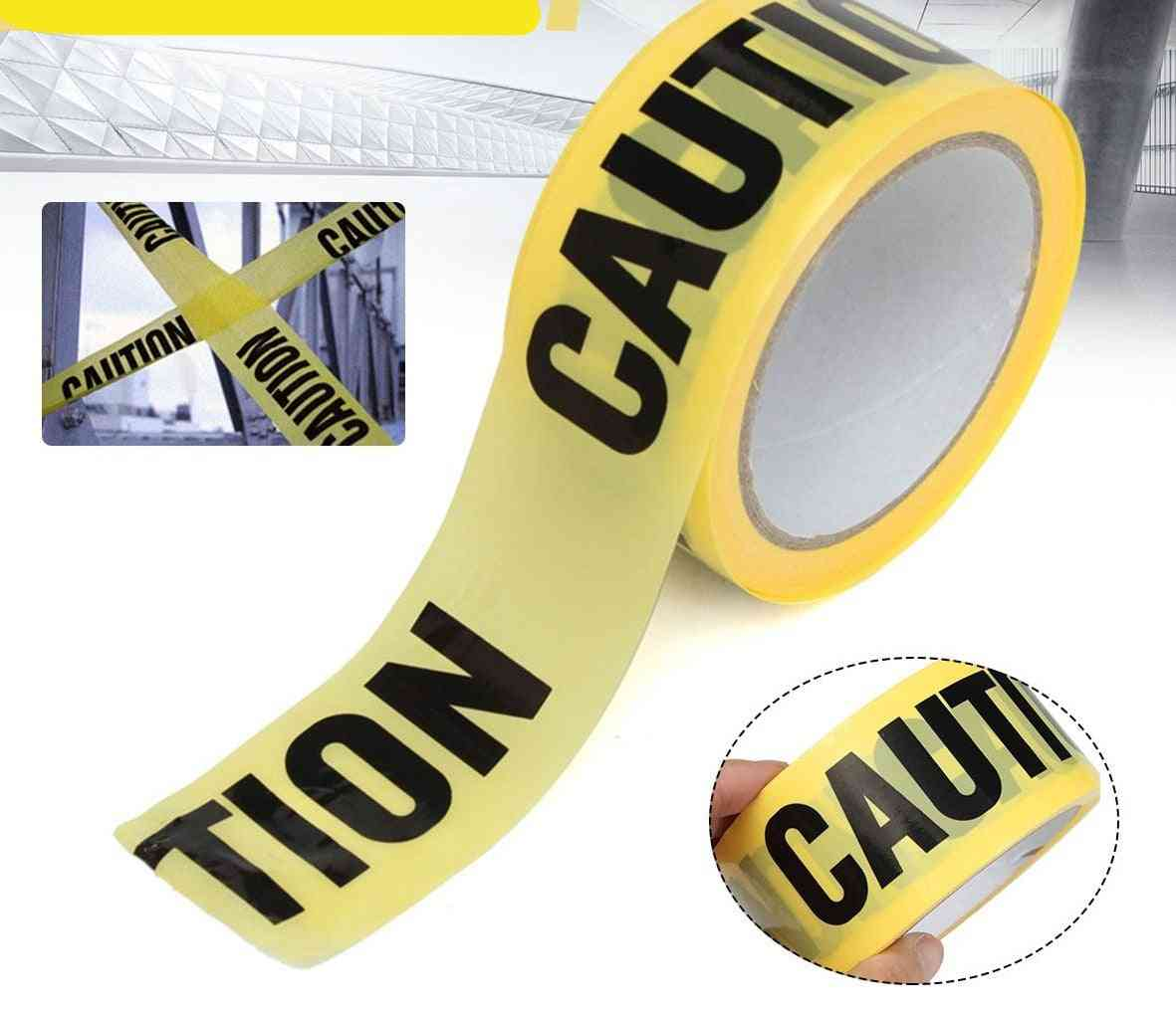 Roll Yellow Caution Tape