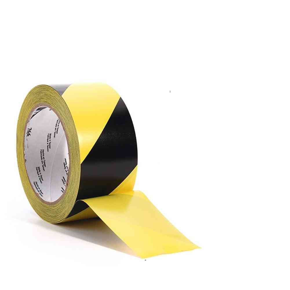 33mx50mm Social Distancing Stairs Self Adhesive Striped Warning Tape