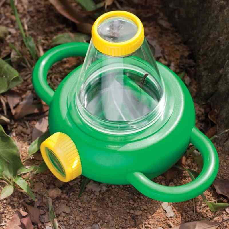Abs Bidirectional Observe Insect Magnifier Box