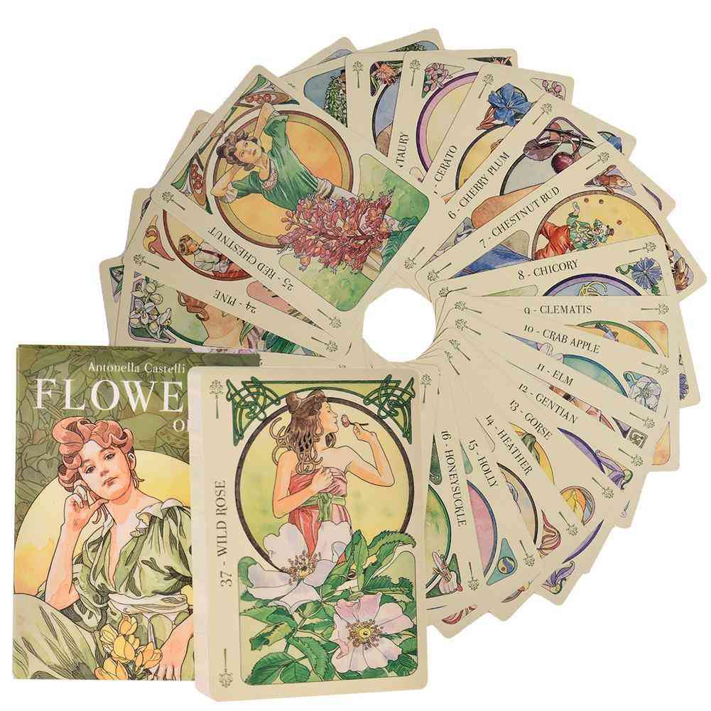 Flowers Oracle Tarot, Table Game Cards