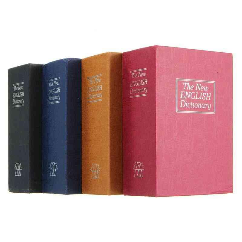 Home Storage Safe Box Dictionary Book