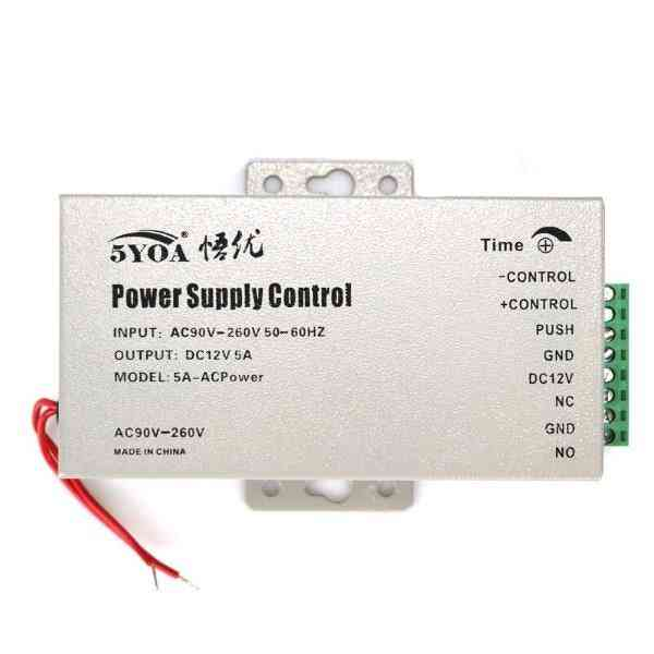 Dc 12v Door Access Control System Switch Power Supply 3a 5a Ac 110~240v