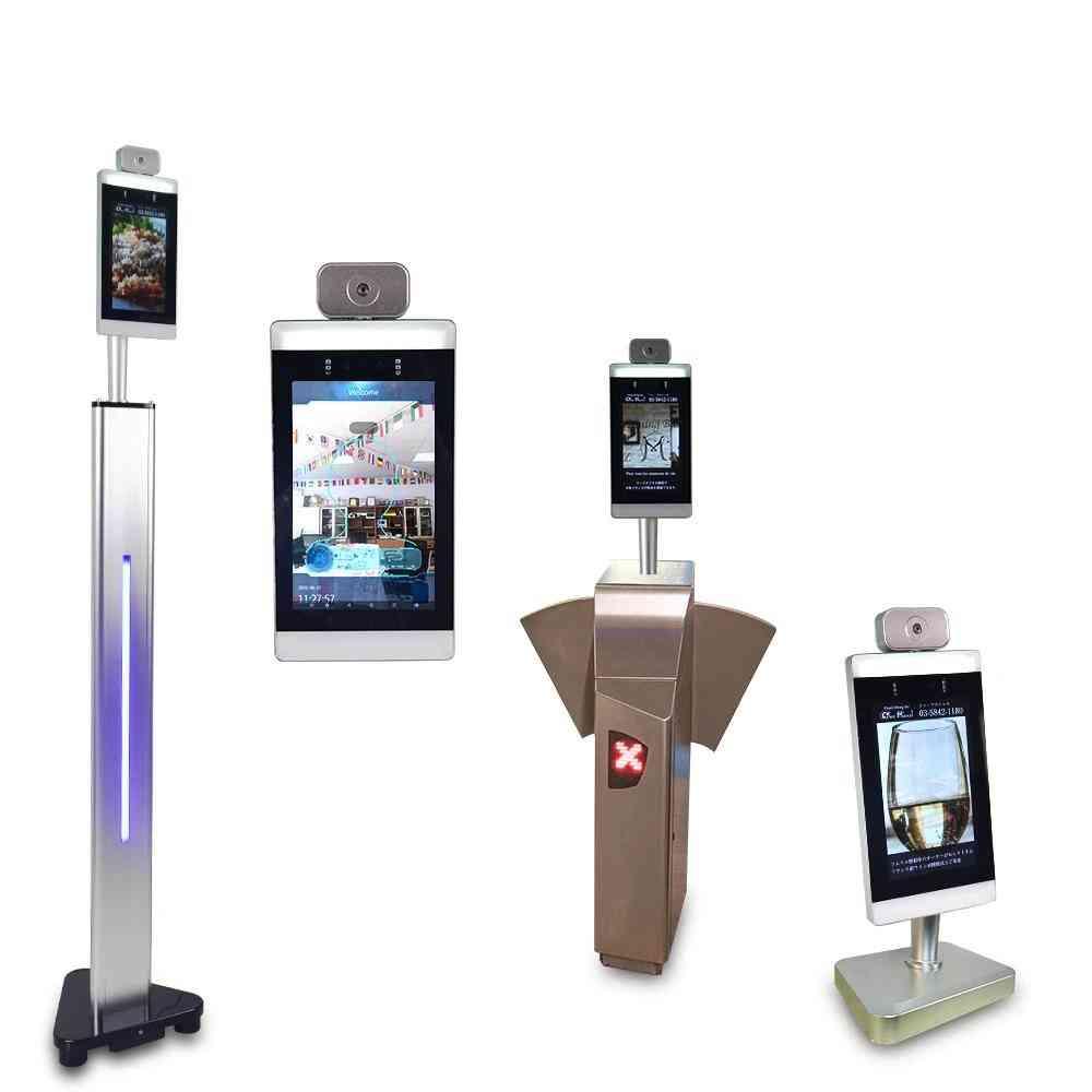 Face Scanning Door Access Control Thermal Imaging Measurement Biometric Temperature Scanner