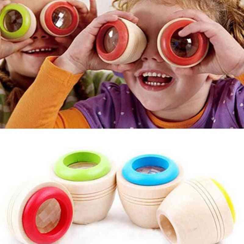 Wooden Educational Magic Kaleidoscope Toy