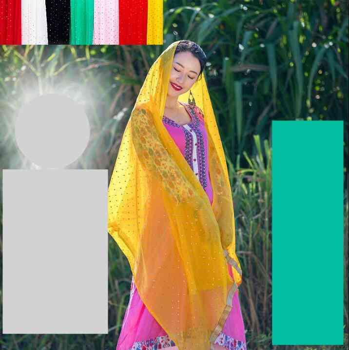 Ethnic Styles Dupattas Sarees Scarf Beautiful Comfortable Shawl