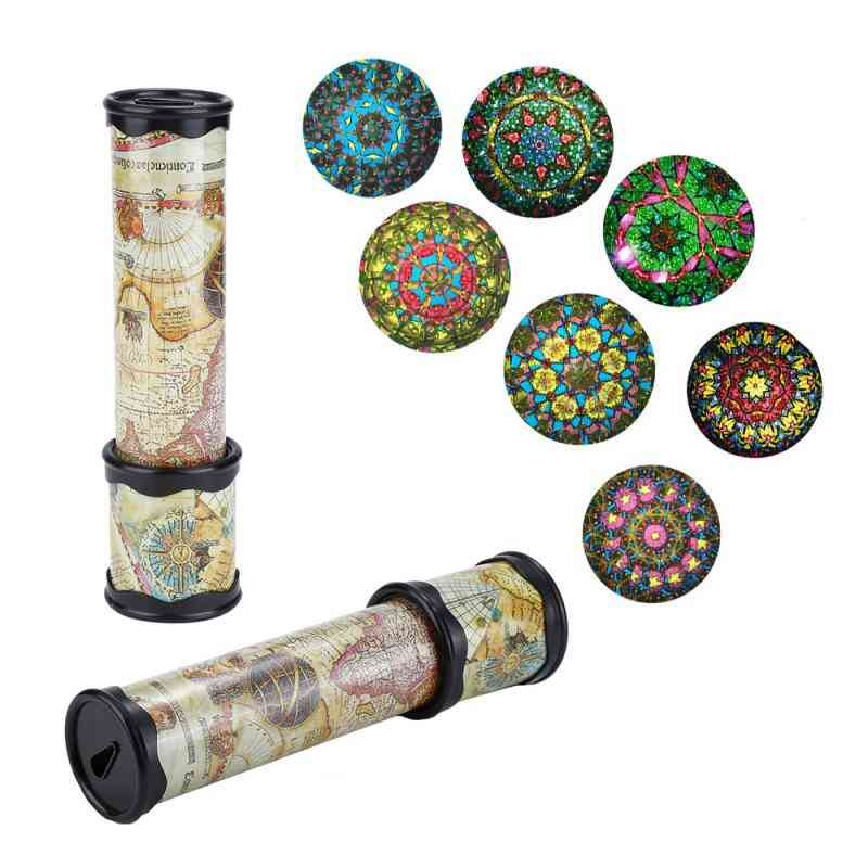 Rotation Kaleidoscope Scalable Magic Changeful Colorful Toy (random Color)