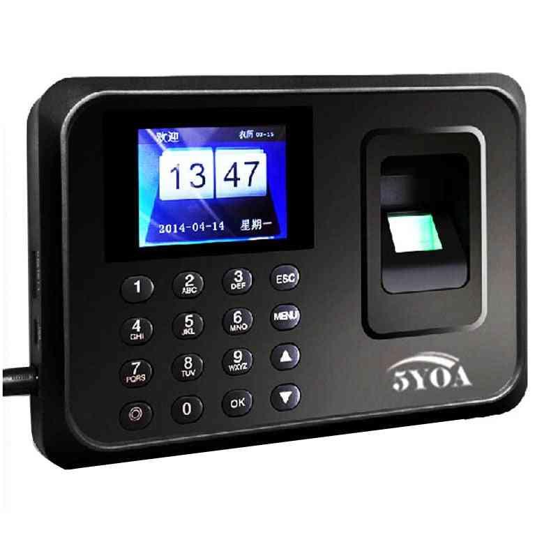 A01 Biometric Attendance System Usb Fingerprint Reader/employee Control Machine Electronic Device