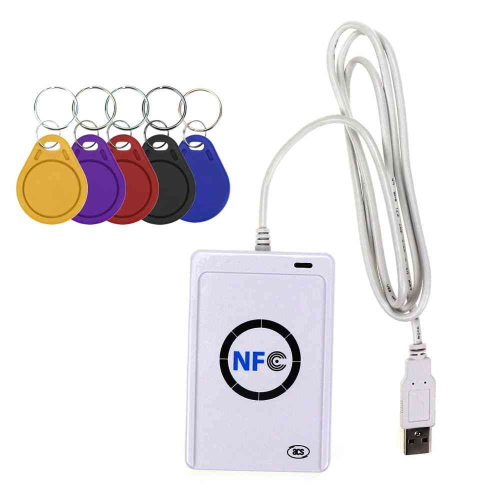 Nfc Reader- Usb Contactless, Smart Ic Card & Writer, Copier Tag, Card Key Fob