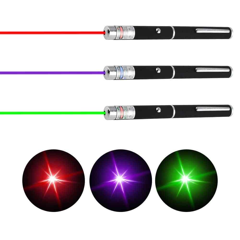 Laser Sight Pointer 5mw High Power Dot Light Pen Powerful Meter 405nm 532nm 650nm