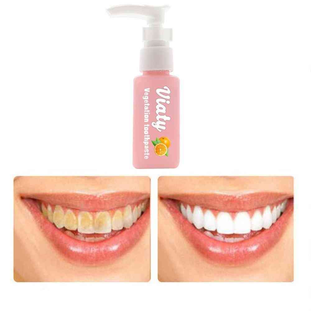 Stain Smoke Coffee Removal Reduce Tooth Dirt Whitening Toothpaste