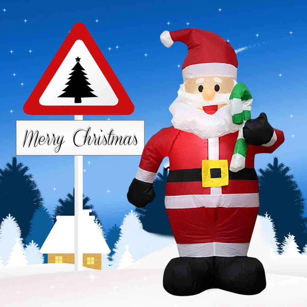 Inflatable Christmas, Santa Claus Ornament, Decorations Outdoor For Home