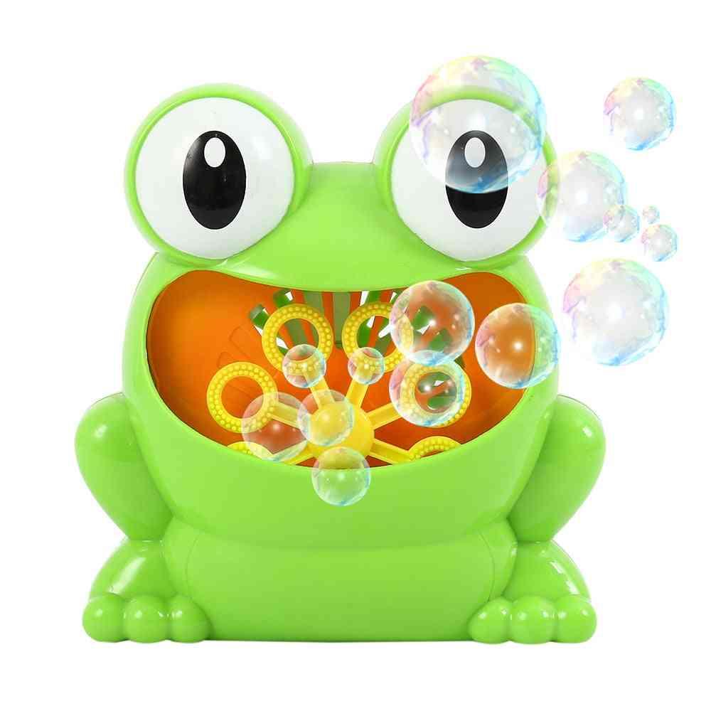 Automatic- Bubble Maker, Crabs Frog, Music Bathtub Soap, Bathroom Toy