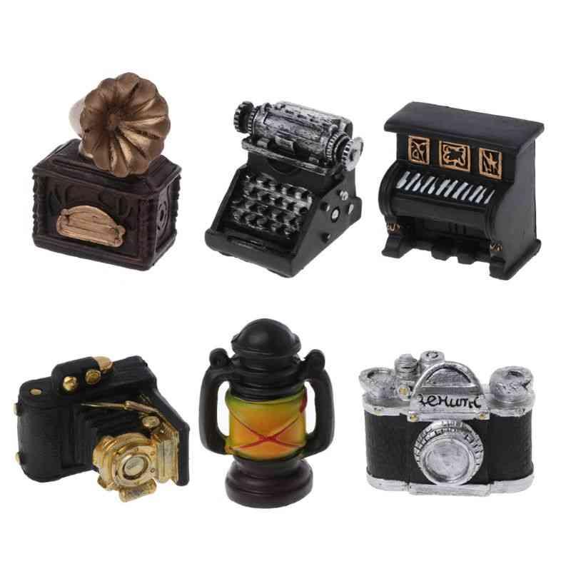 Retro Resin Mini Small Decoration Creative Picture Shooting Idea, Studio Accessories