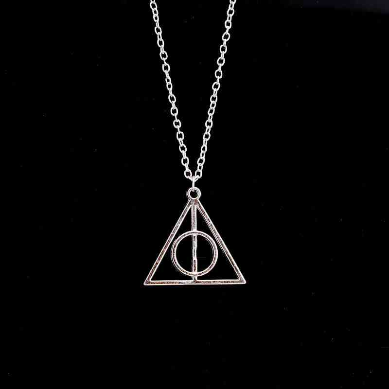 Harried Movie Deathly Hallows Pendant Necklace