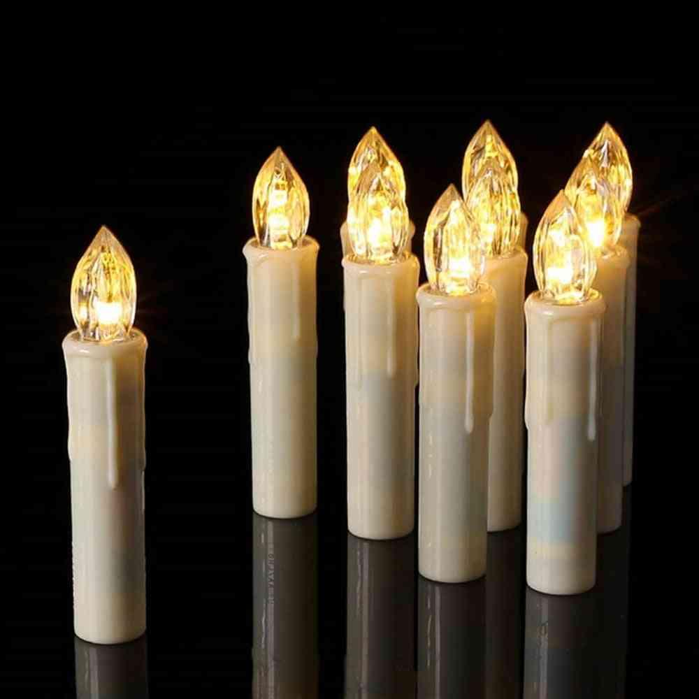 Creative Led Candle Lamp, Simulation Flame Tea Light