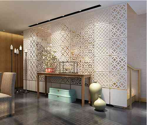 Hanging Room Dividers, Partitions Folding Screen Aluminium Chain Curtain
