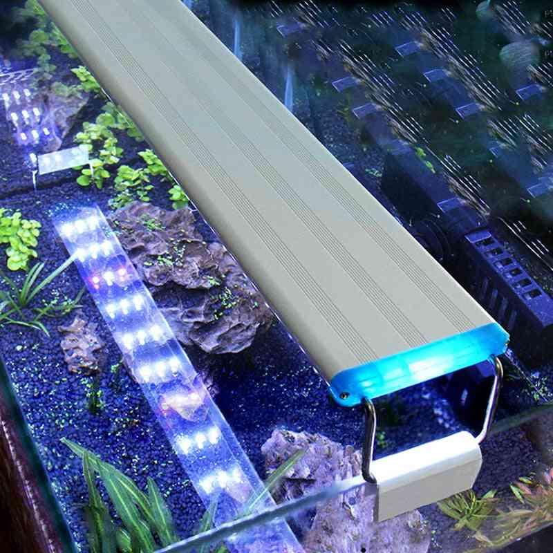 Super Slim Fish Tank Aquatic Plant Grow Lighting Waterproof Bright Clip Lamp
